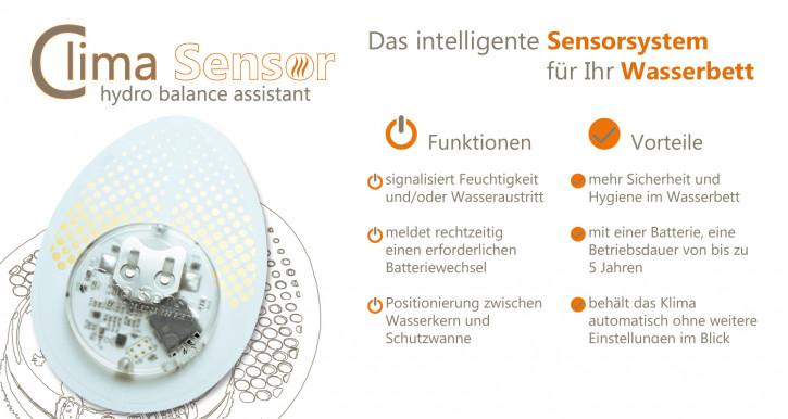 Clima-Sensor für dein Wasserbett